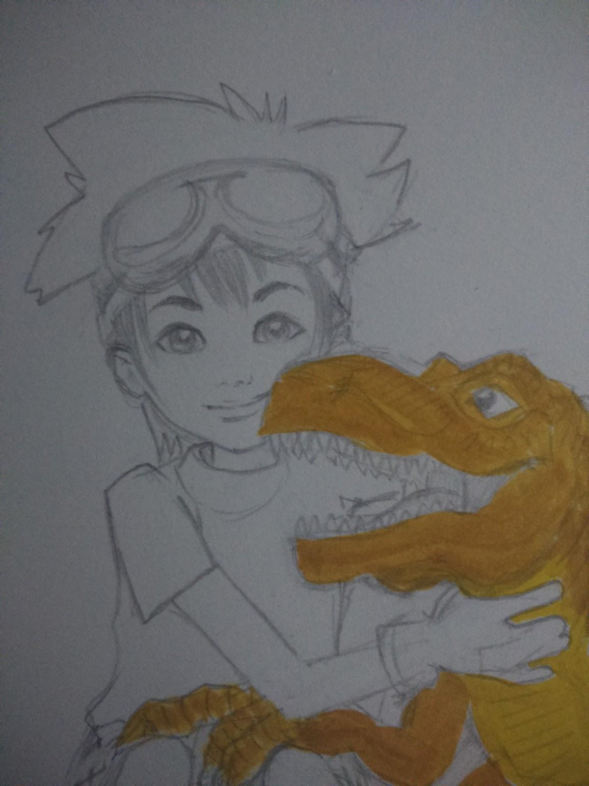 Digimon, los monstruos digitales! Parte I | Mr. Pencilmaniac