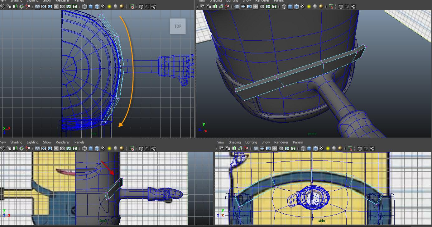 Modeling belt 03