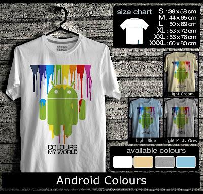 kaos distro android colours