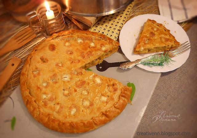 Пирог картофельный.
