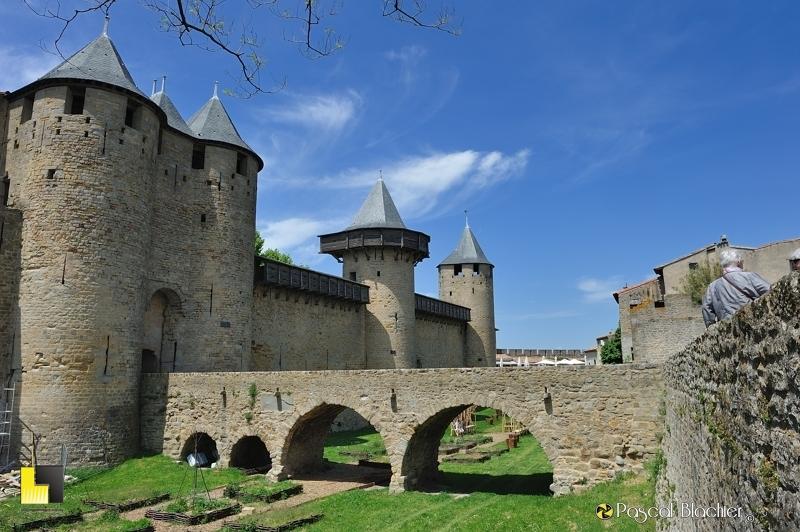 Le château Comtal de la cité de Carcassonne photo pascal blachier au delà du cliché