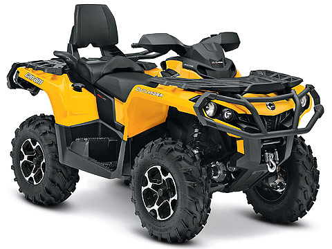2013 Can-Am Outlander MAX XT 1000 ATV pictures. 480x360 pixels