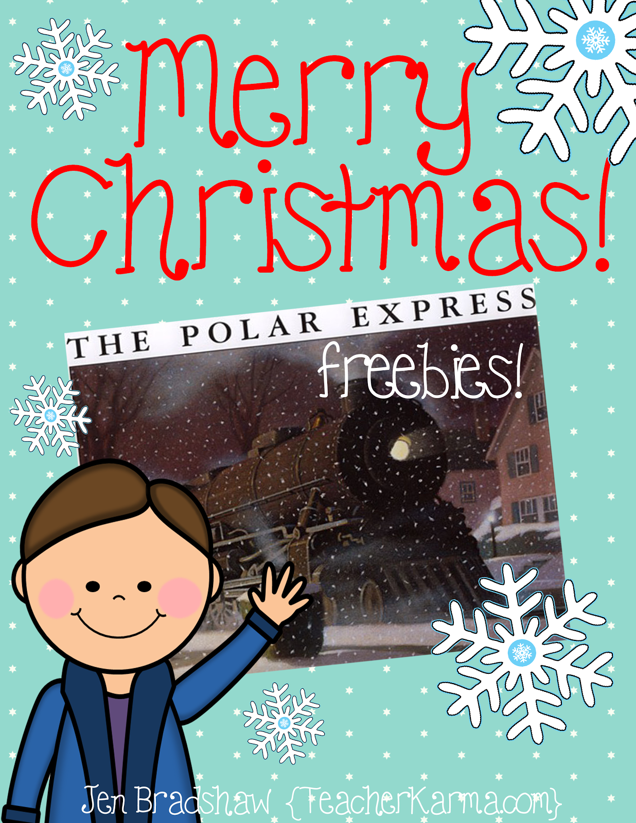 Polar Express Freebies!  TeacherKarma.com