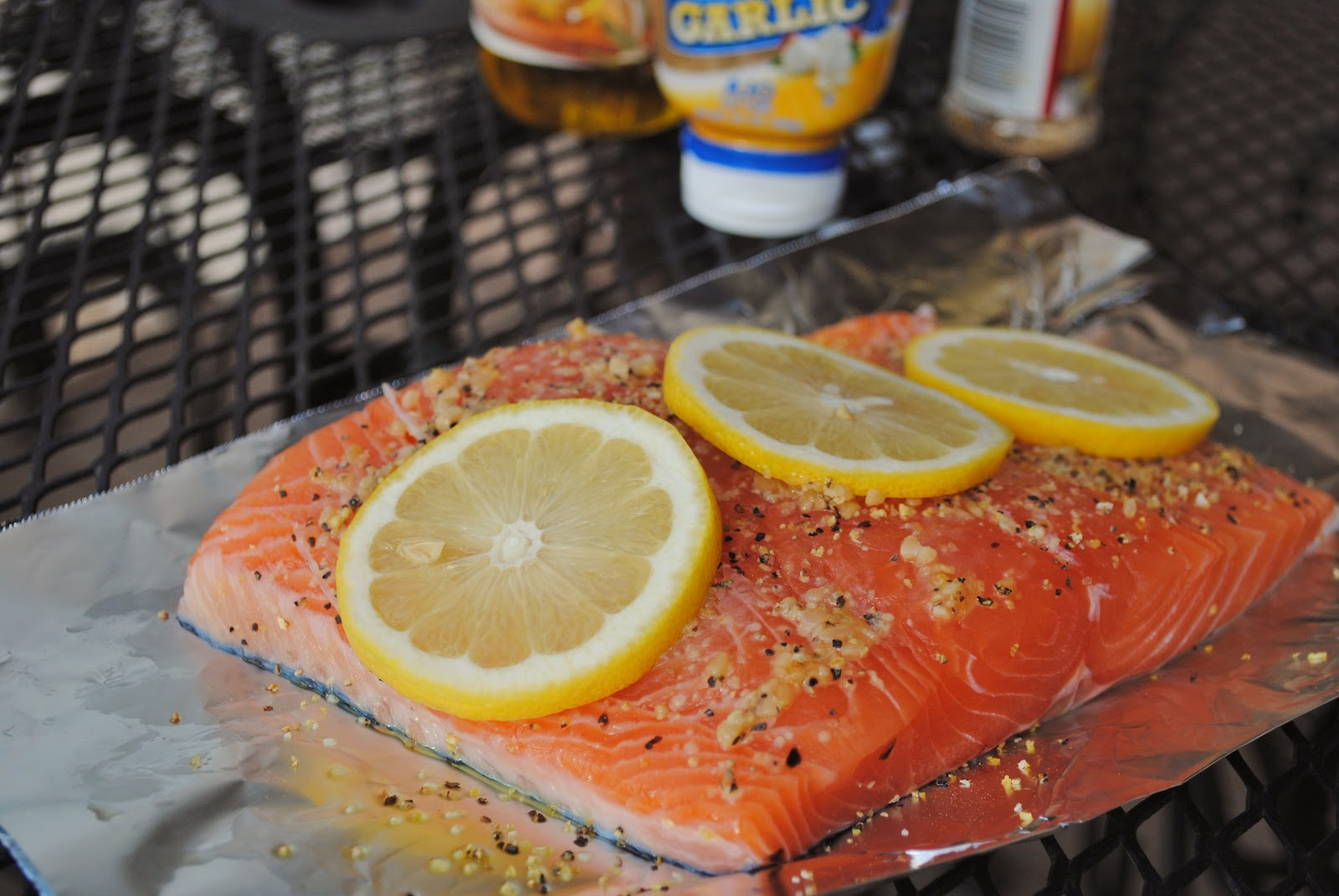 1t Lemon Pepper Turn Your Grill To About 400f And Cook The Salmon For  About 1214 Minutes, Covered