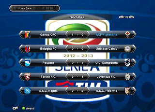 Download Menu ML Serie A PES 2013 | The Special One Blog