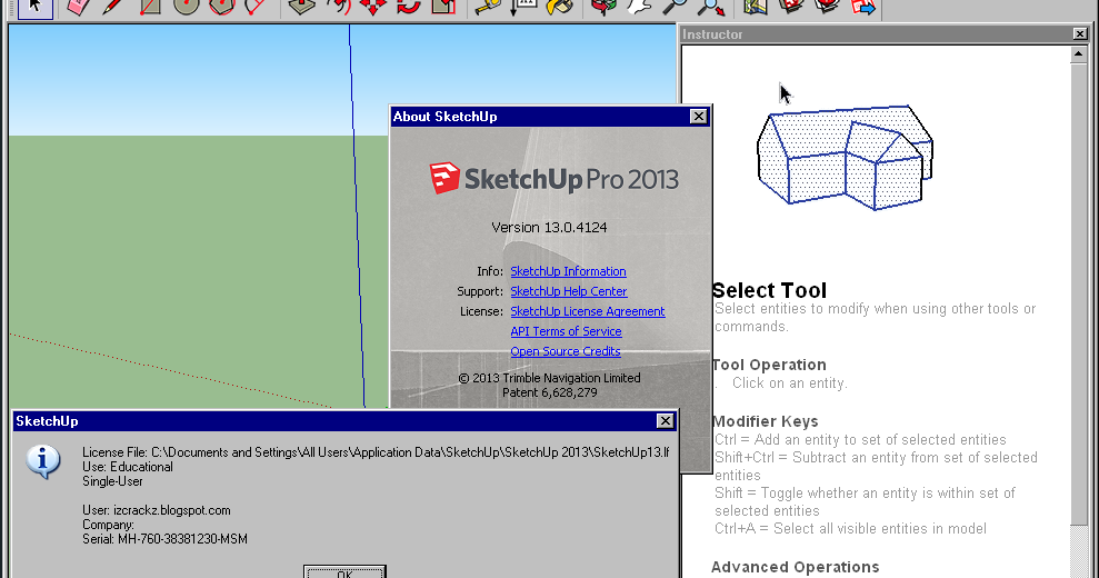 Sketchup pro 2013 full version free download crack for Sketchup 2013