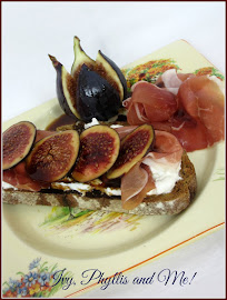 FIG,  RICOTTA AND PROSCIUTTO