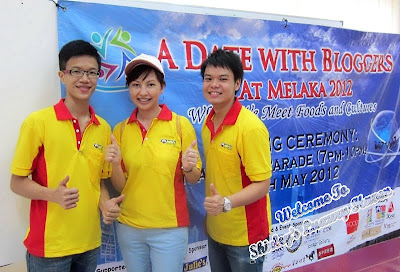 a date with bloggers at melaka 2012