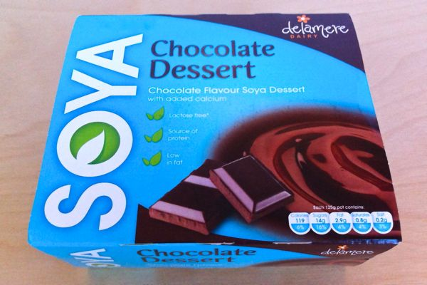 Review: Chocolate Soya Desserts from Delamere Dairy
