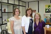 Deputada Dioni, Terezinha e Edite