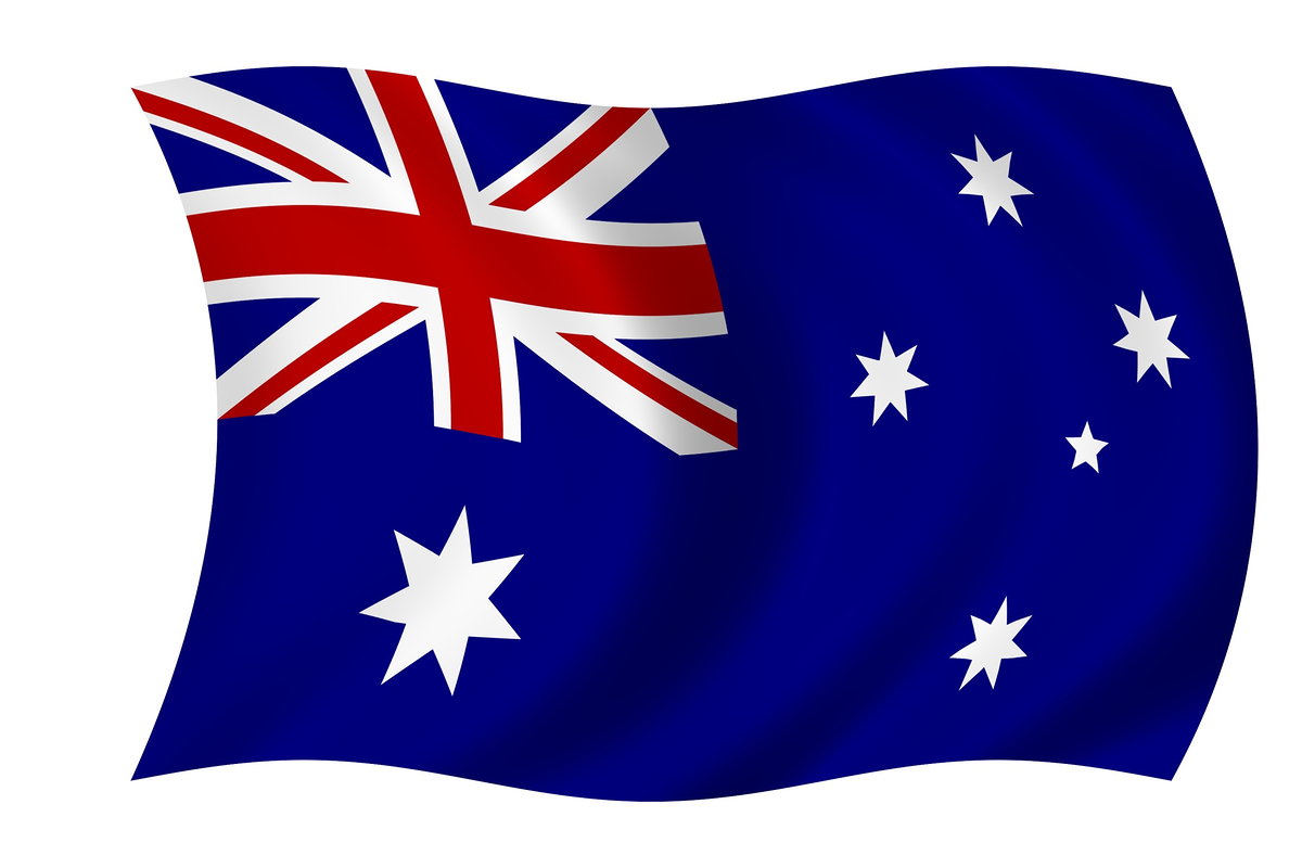 Large australian flag pictures