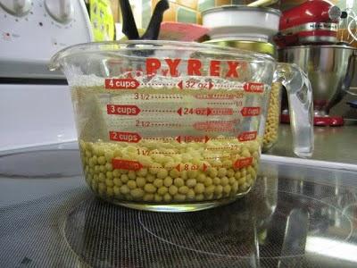 cara membuat susu kacang kedelai