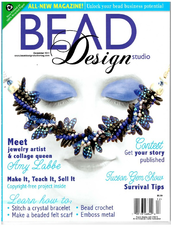 Current issue of bead design studio formerly bead unique magazine