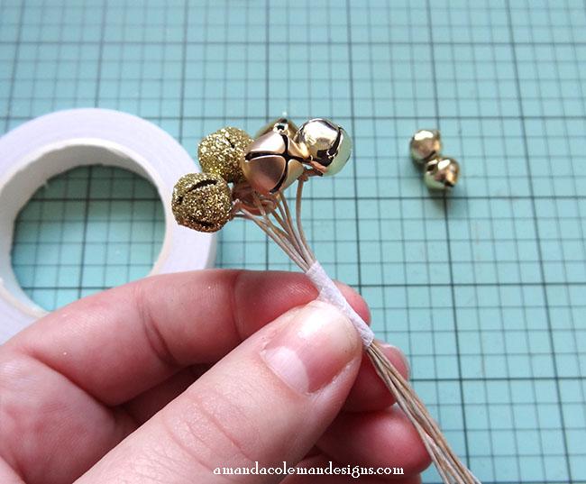 DIY Crepe Paper Poinsettia.