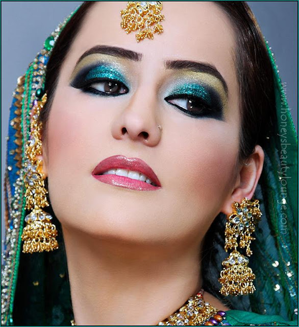Pakistani Bridal Eye Shades