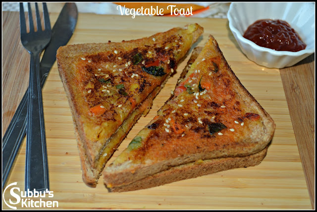 Vegetable Toast