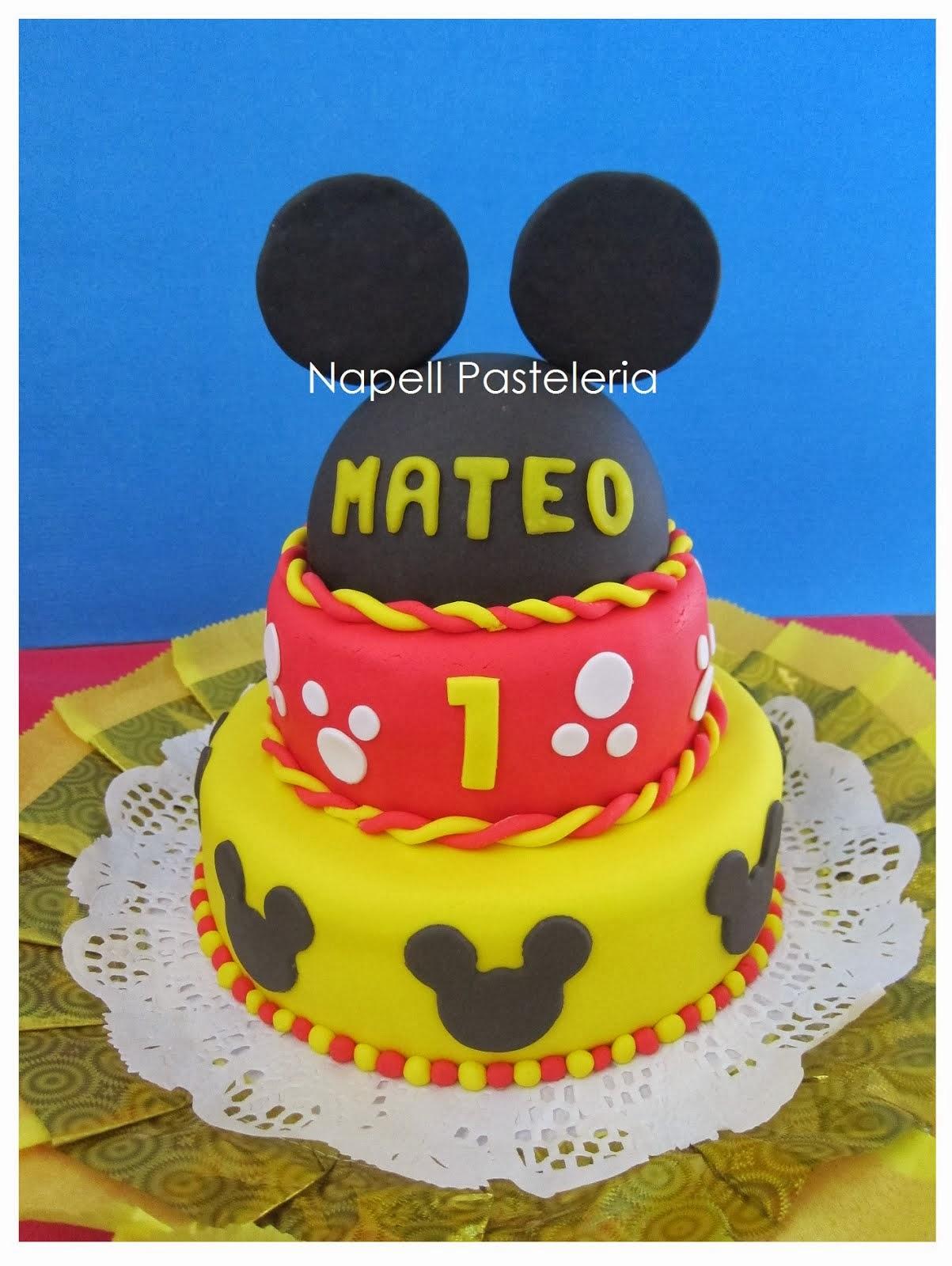 Torta Orejas de Mickey
