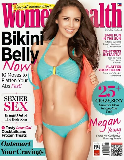 Miss World Megan Young Covers Women's Health March 2014