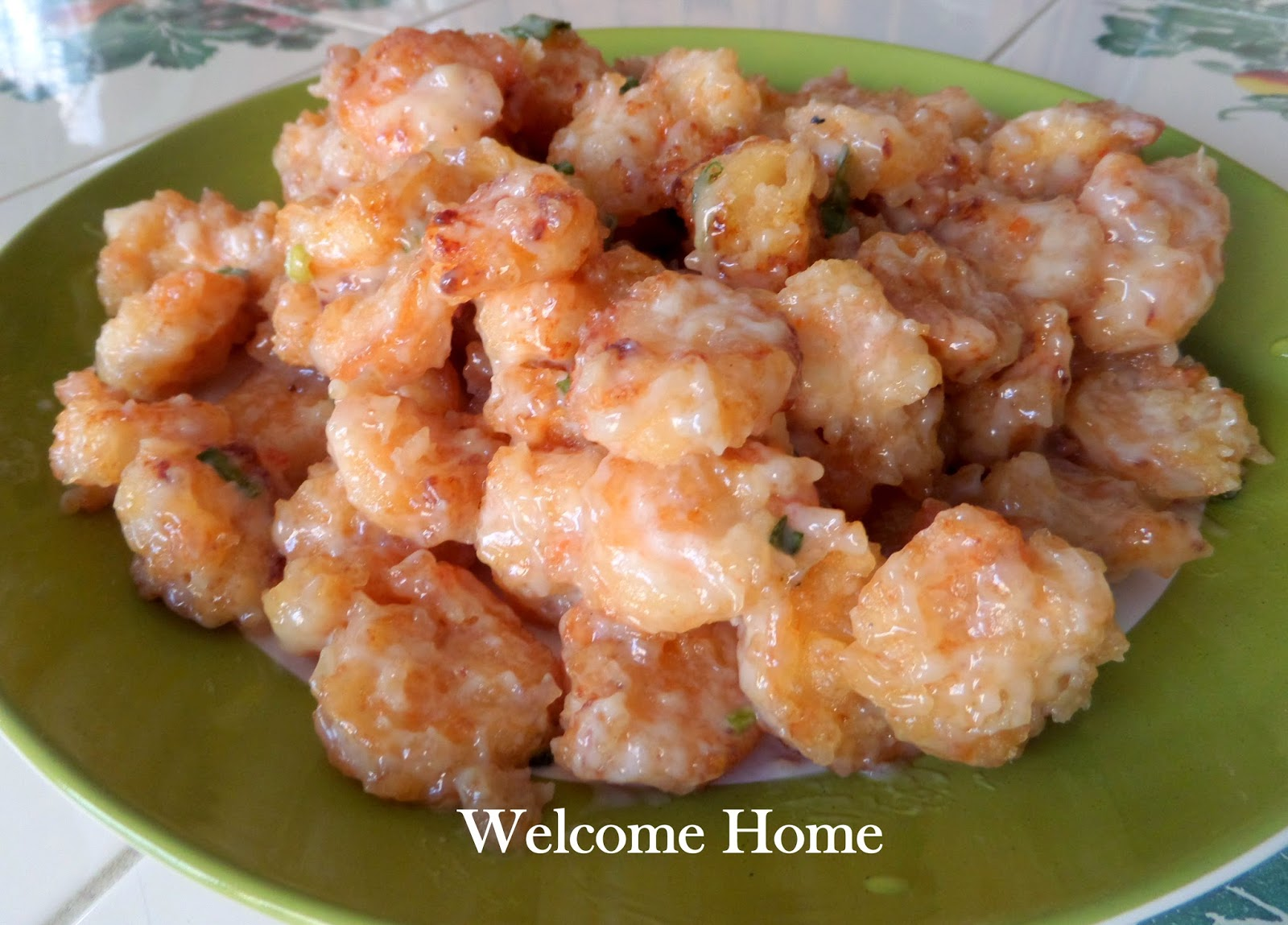 Welcome Home Blog: ♥ Shrimp in Creamy Coconut Sauce