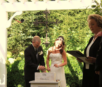 Brenda m owen the wedding woman ceremony officiant for Love letter wedding ceremony