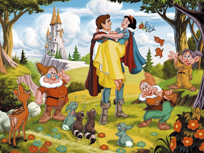 Fairy Princess Snow White and Prince with Dwarfs picture gallery