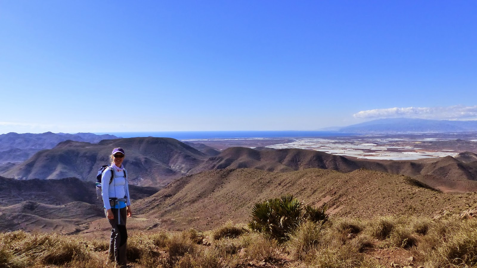 Cerro Penones looking over Caldera Majada Redonda