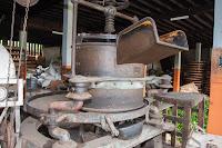 Maschine um Tee zu rollen