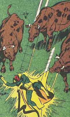 los toros tienen una Vision
