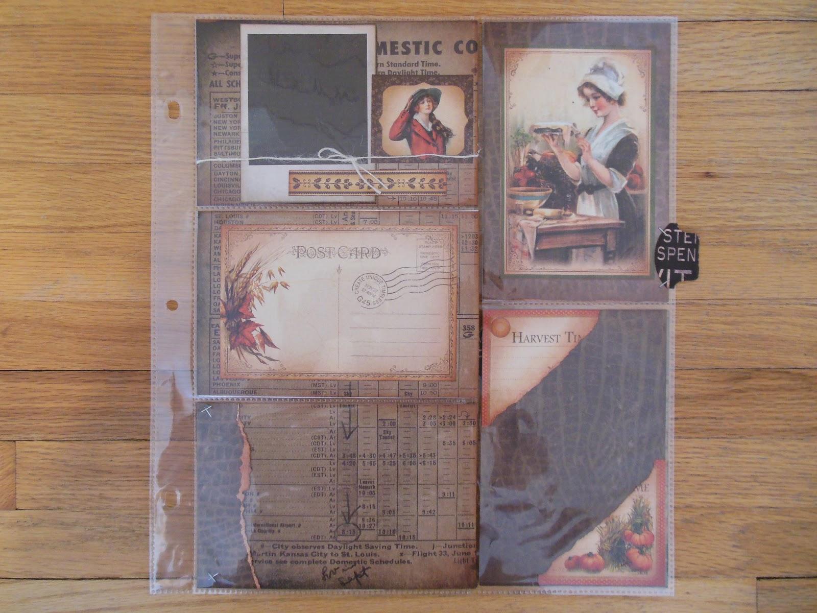 vintage div layouts