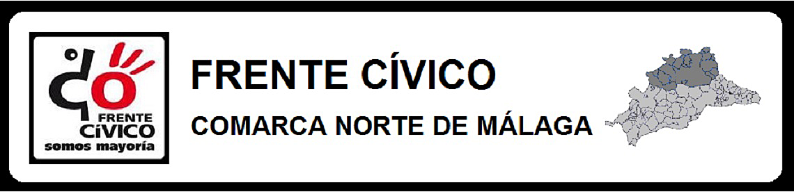 """FRENTE CÍVICO """"SOMOS MAYORÍA"""" COMARCA NORTE DE MÁLAGA"""