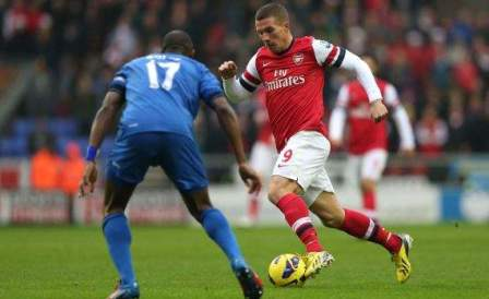 Hasil Pertandingan Wigan Athletic Vs Arsenal 0-1