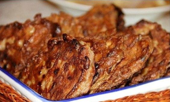 Вкуснейшие оладьи из куриной печени