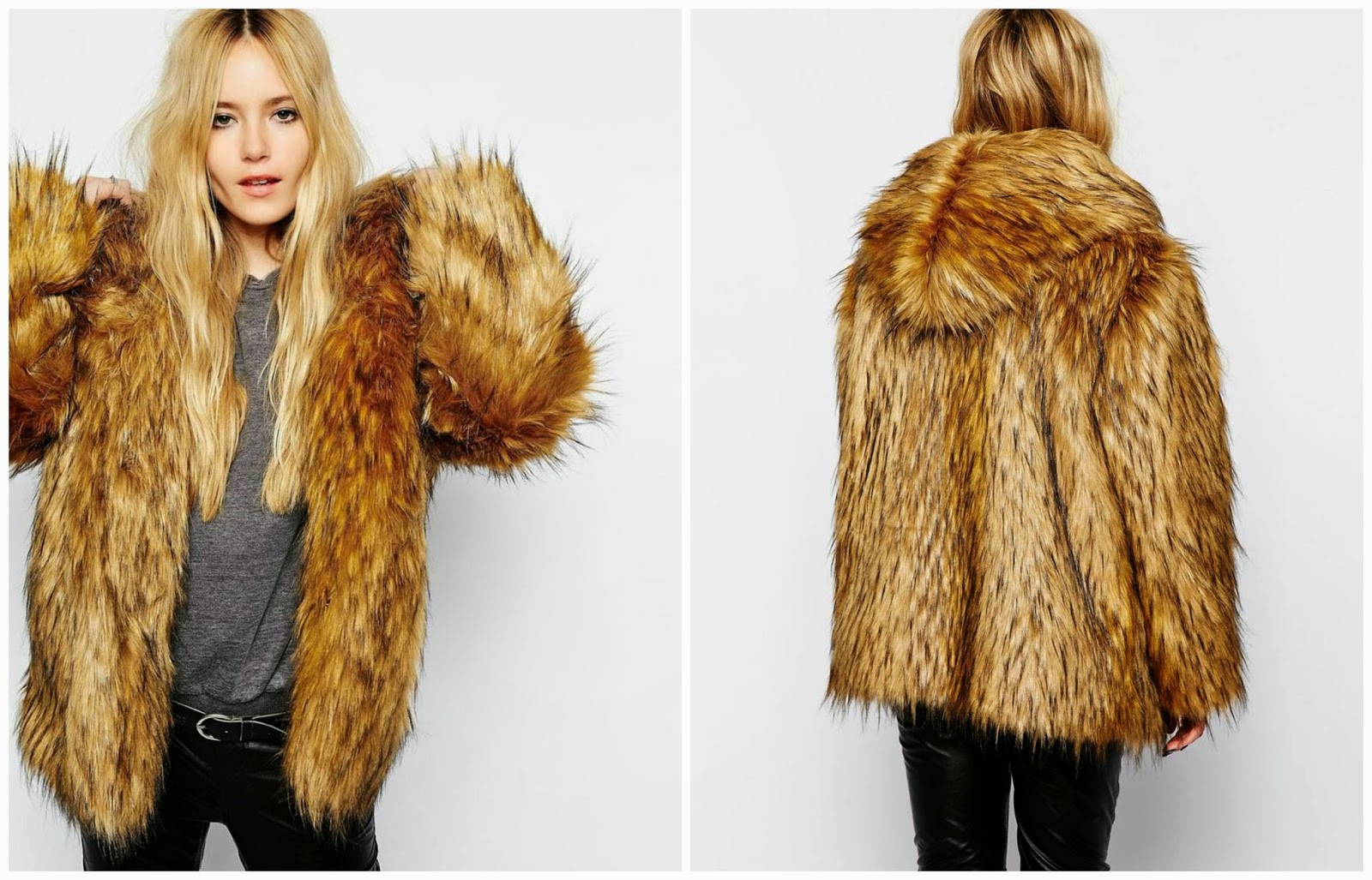 Style Trunk : Lust of the week: Hooded faux fur coat