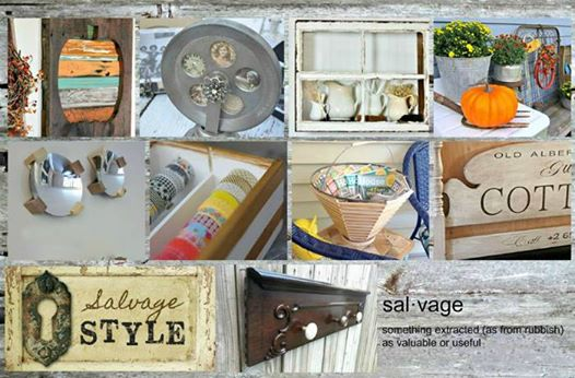 Salvage Style Alberts Bench Bliss-Ranch.com