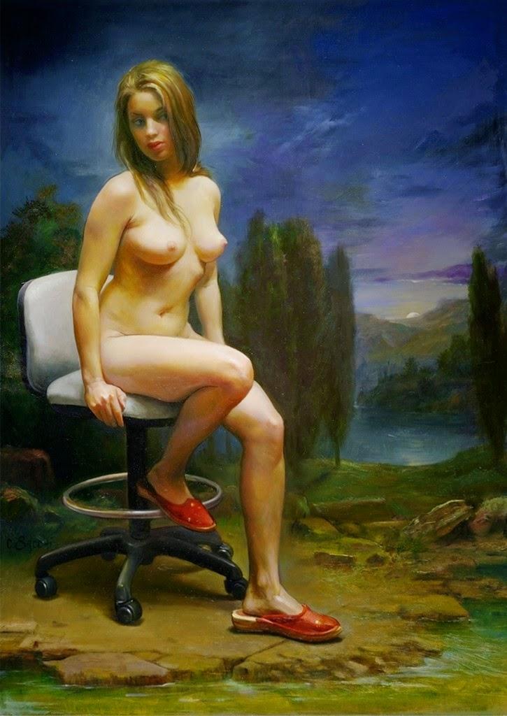 pintores-hiperrealistas-famosos-de-desnudos