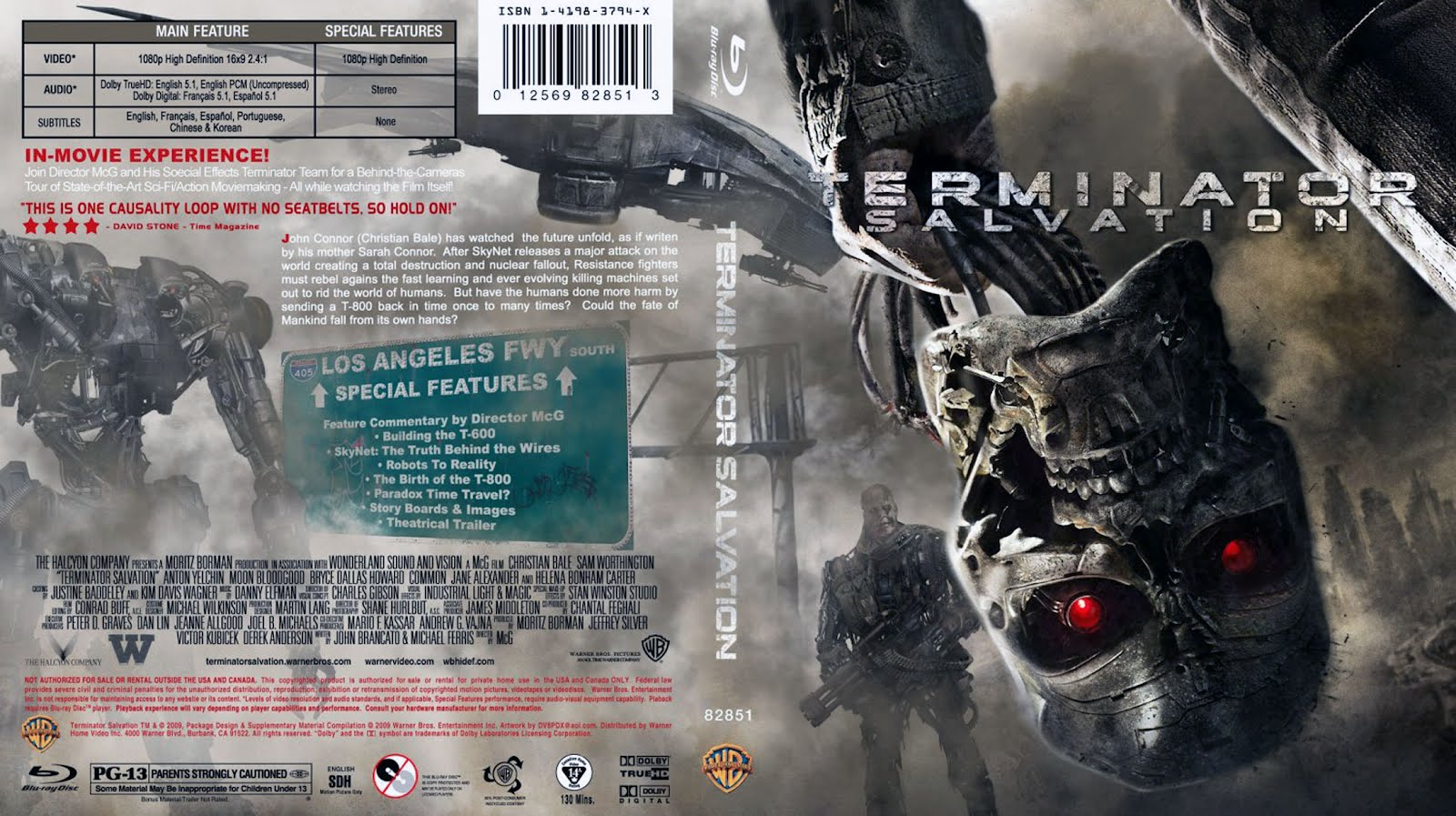 Terminator Salvation Dvd Disk Cover