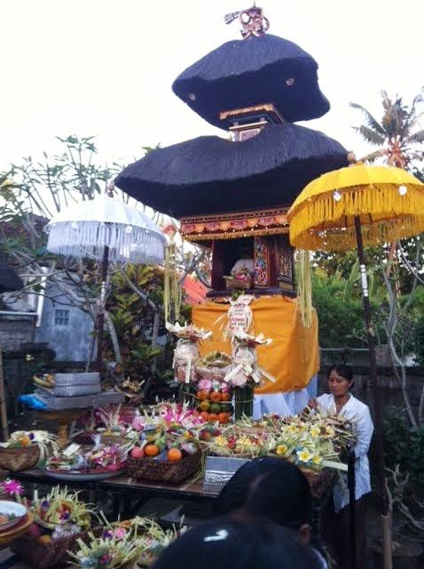 Tetandingan Banten Ayaban Sejarah Hari Raya Upacara Yadnya Di Bali
