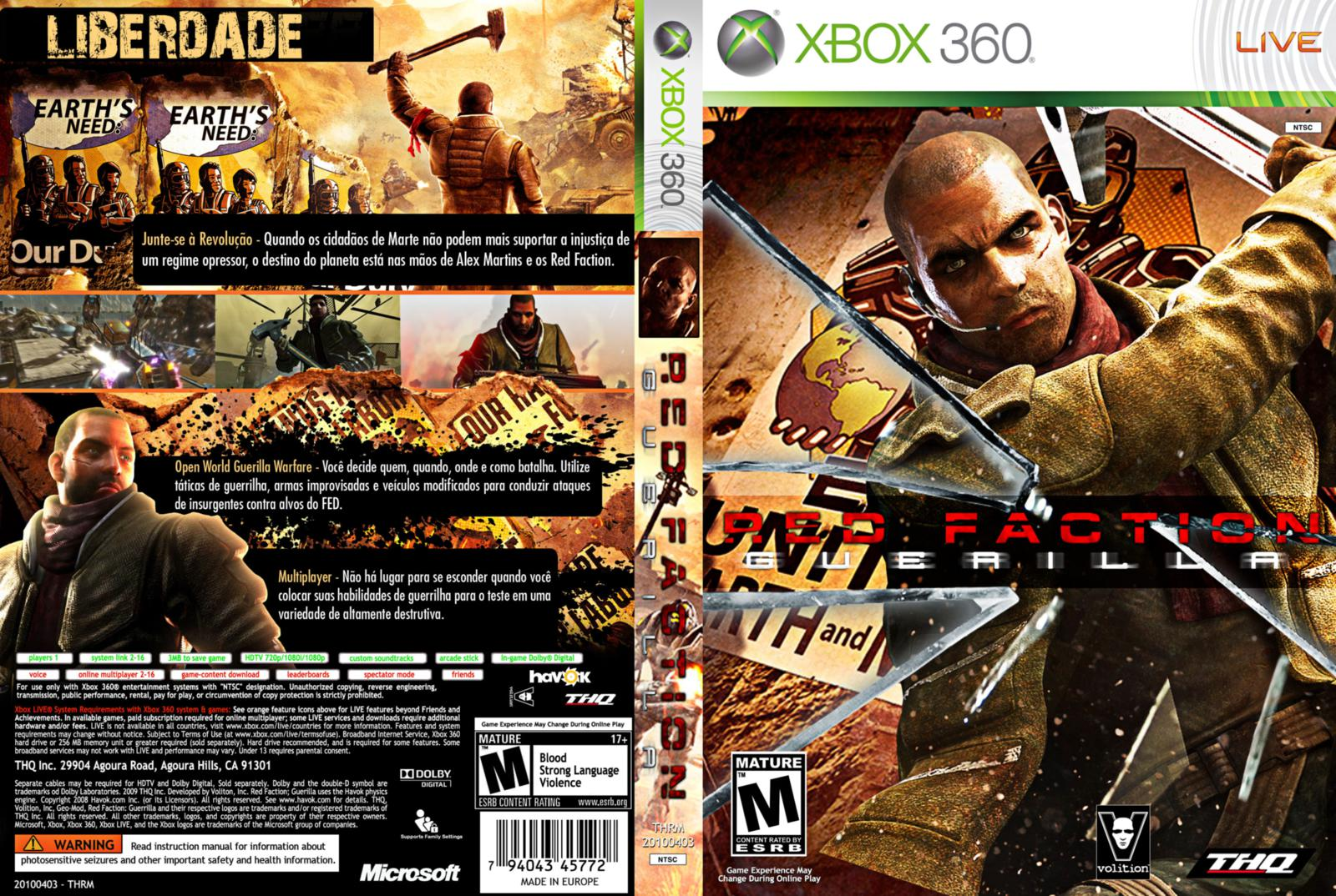 red faction guerrilla demo xbox 360 download
