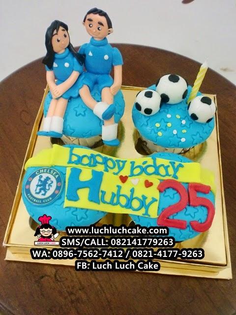 Cupcake Chelsea Untuk Suami Daerah Surabaya - Sidoarjo