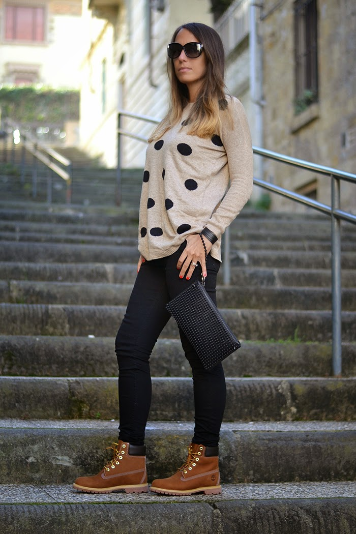 look nero e beige