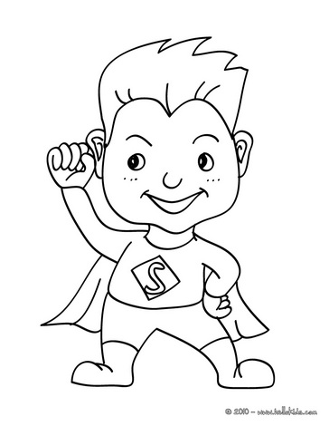 best superhero coloring pages for kids