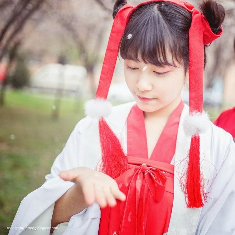 Thiếu nữ Hàn Quốc xinh đẹp với mùa xuân 7
