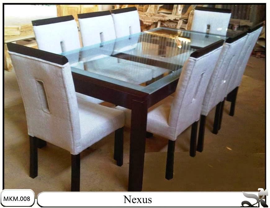 Kursi makan dan meja minimalis set nexus