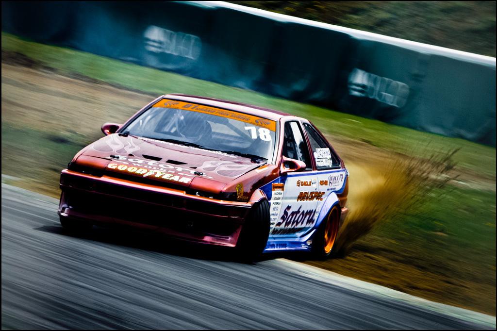 レース、 ドリフトそうこう、 チューニングカー、 スポーツカー、 ドリフト走行、 AE86