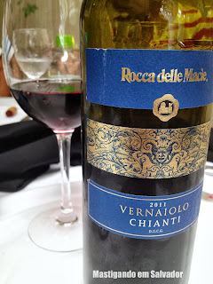 Ristorante La Pasta Gialla: Vinho Tinto Italiano Vernaiolo