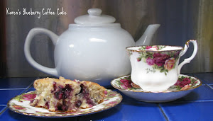 My favorite Blueberry Coffee Cake