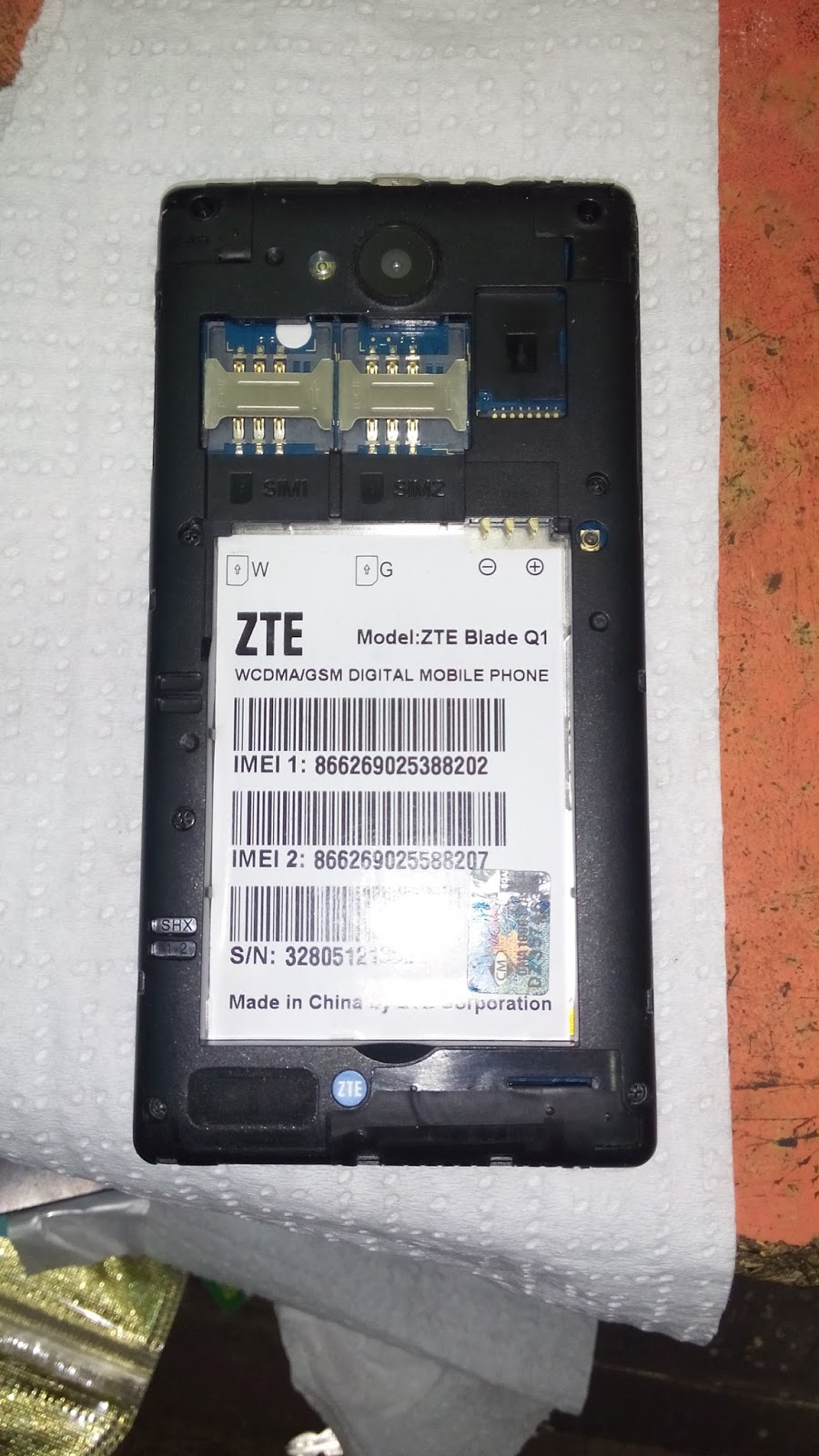 Welcome Mobile: ZTE BL...