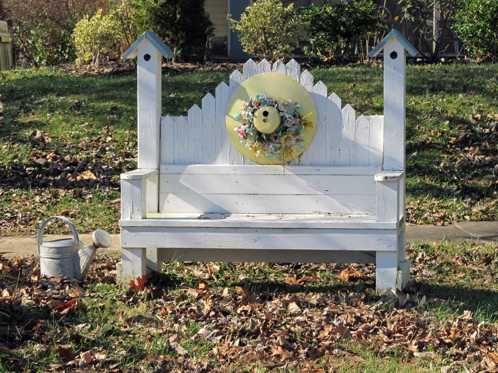 birdhouse bench plans