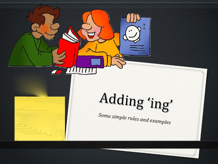 How to add ing to the base form of the verb correctly