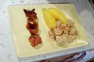 Фрикасе из курицы с тимьяном